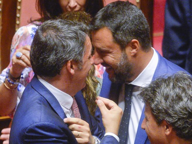 Renzi-Salvini, stasera confronto tv  tra i due Mattei: 75 minuti, una sola regola e Vespa arbitro