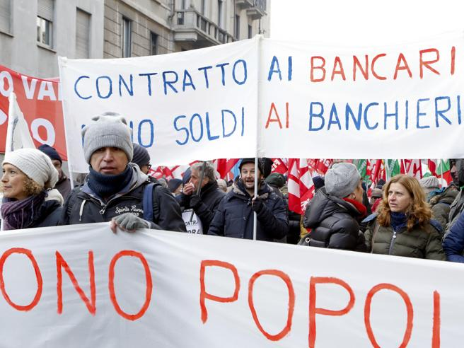 Banche, il sindacato dei bancari verso lo sciopero per  il contratto