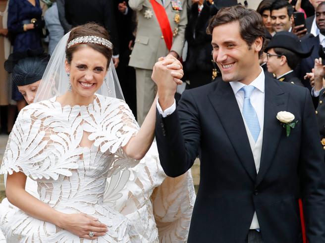 L'erede di Napoleone Bonaparte ha sposato la discendente di Maria Luisa d'Austria a Parigi