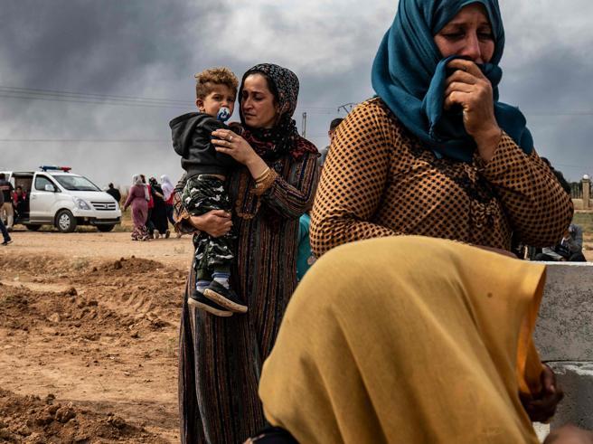 Ustioni sospette sui curdi feriti «I turchi colpiscono gli ospedali»