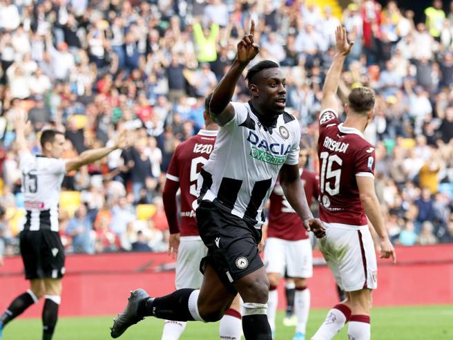 Udinese-Torino 1-0: un colpo di testa di Okaka spegne i sogni di gloria del Torino