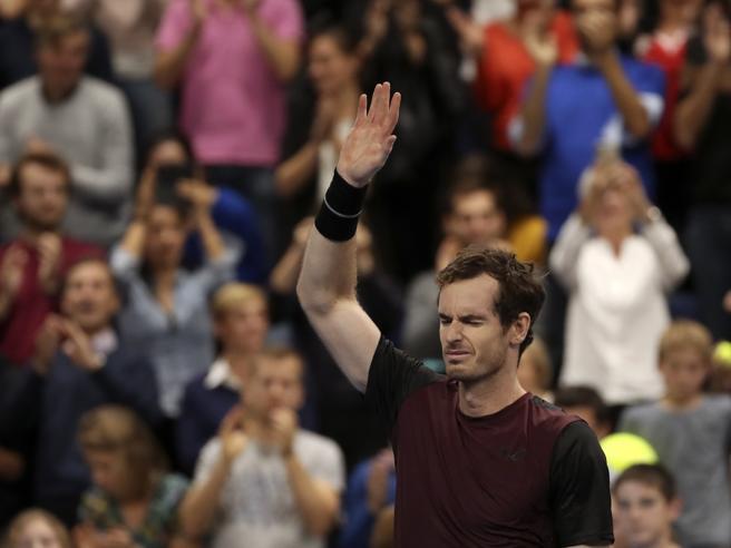 Murray, le lacrime stavolta sono di gioia: vince Anversa battendo Wawrinka