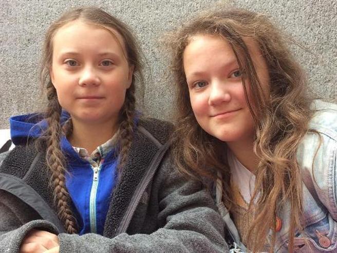 Beata, la sorella 13enne di Greta Thunberg presa di mira dagli hater