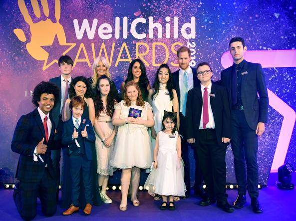 Harry e Meghan il 15 ottobre ai WellChild Awards a Londra
