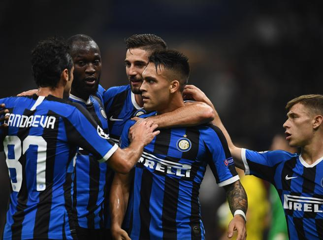 Inter Borussia Dortmund 2 0:  Lautaro e Candreva per la prim