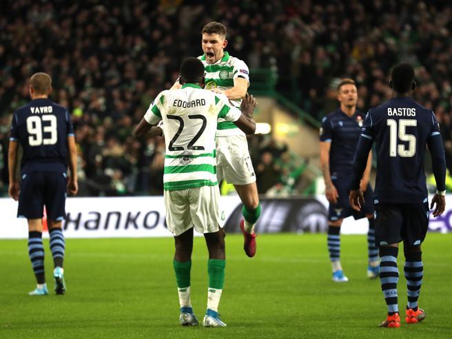 Celtic Glasgow-Lazio 2-1:  i biancocelesti crollano nel finale