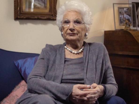 La senatrice Liliana Segre, vittima di ingiurie antisemite