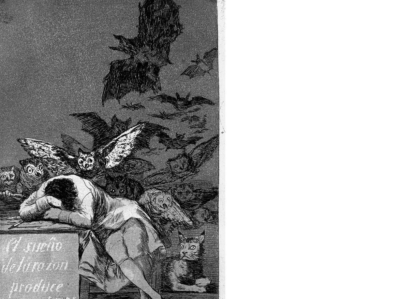 L'acquaforte di Goya