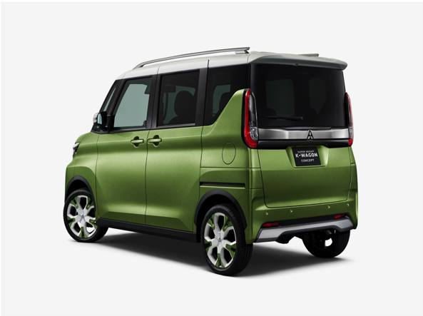 Mitsubishi Super Height K-Wagon La «kei car» che vuole fare il Suv