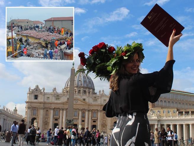 San Giuliano,  sopravvisse al crollo:  ora fa la maestra