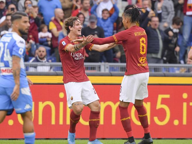 Roma-Napoli 2-1: super Zaniolo e Veretout, volano i giallorossi