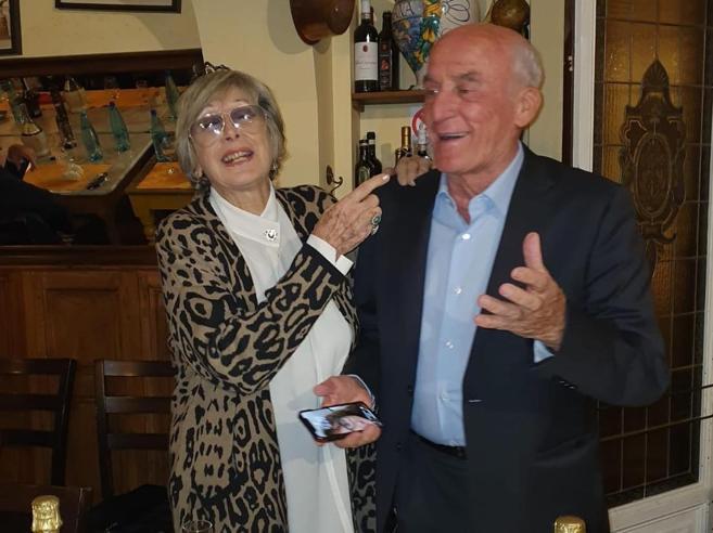 Antonella e Gianni, le nozze d'oro degli Olimpionici