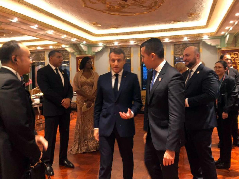 Accordi con la Cina, quasi tutto a Macron, poco all'Italia
