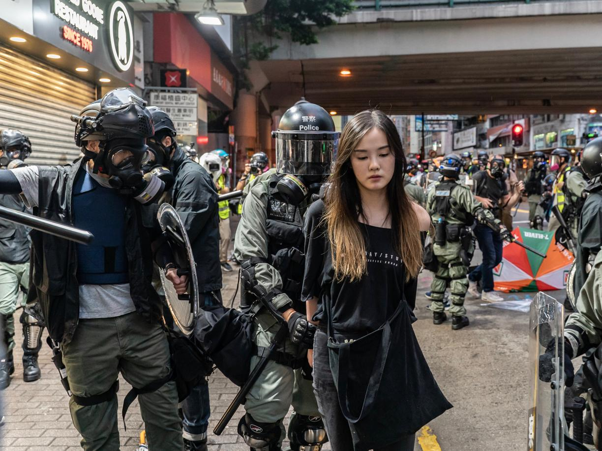 Hong Kong, continuano le proteste contro il governo cinese (Getty Images)