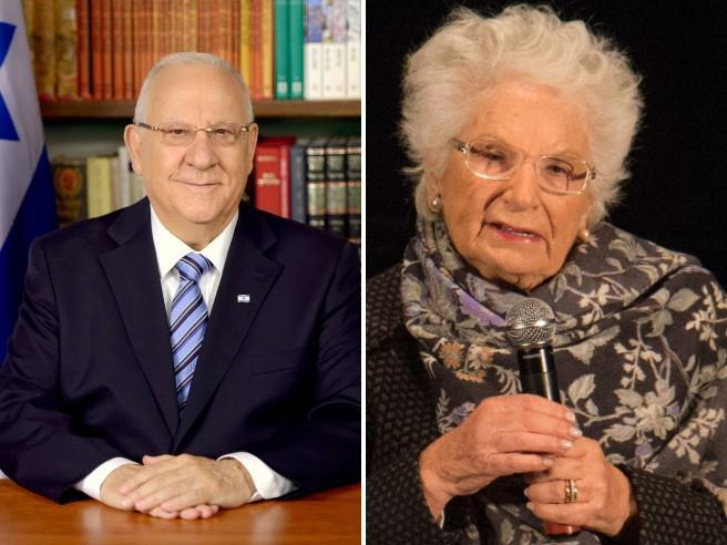 Il presidente Rivlin scrive a Segre |  «Sono inorridito dalle minacce che ha ricevuto»