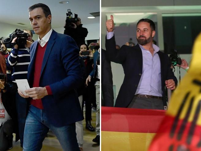 Elezioni in Spagna, i risultati: Sánchez perde la scommessa, ultradestra raddoppia