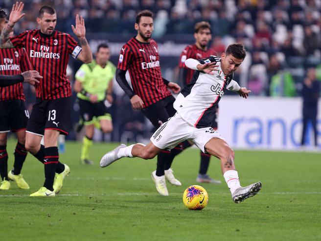 Juventus-Milan 1-0: Ronaldo non gira, ci pensano Higuain e Dybala