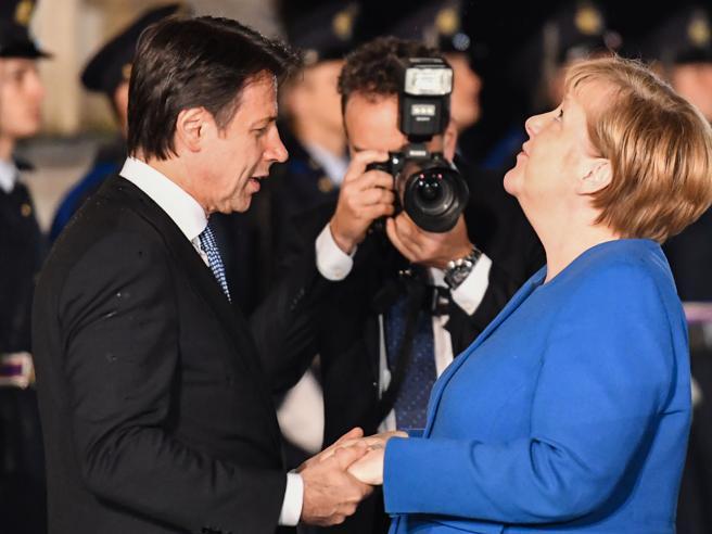 Il premier  vede la Cancelliera Merkel: «Serve  gestione eur