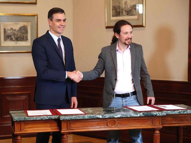 Socialisti e Podemos insieme  al governo per 4 anni.  Ma