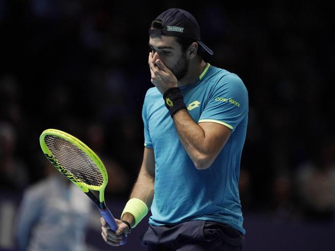 Atp Finals, Berrettini eliminato Dopo il ko con Federer il verdetto dalla vittoria di Thiem su Djokovic