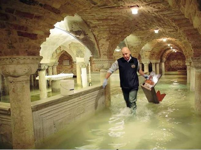 Flooding in Venice and the 'apocalypse' of St Mark's