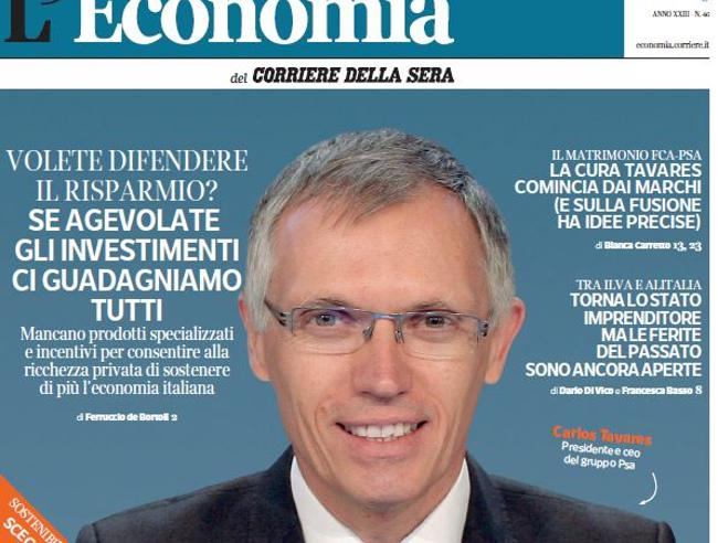 Italiani ricchi di famiglia, ma il Paese? L'Economia lunedì gratis