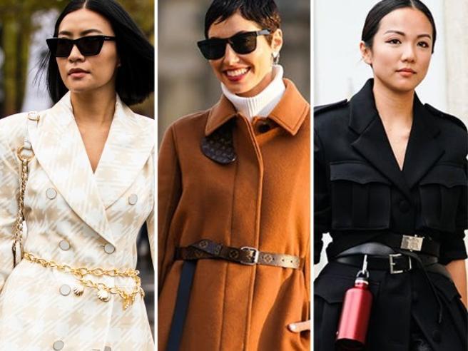 La cintura sopra il cappotto: scegliere quella giusta e come indossarla. Evitando scivoloni