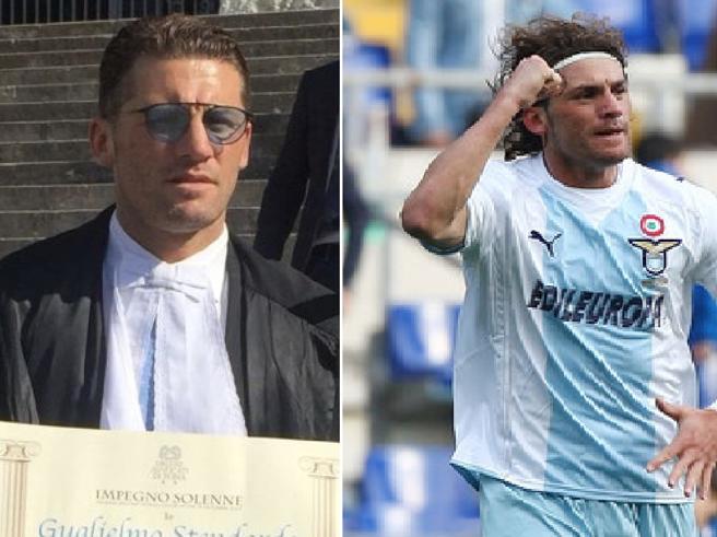 Stendardo, l'ex Lazio che ora fa l'avvocato: «Il 60% dei ca