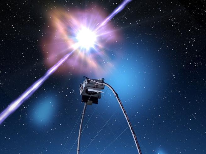 Esplosione cosmica sprigiona i più potenti raggi gamma mai osservati: ci consentiranno di studiare i buchi neri