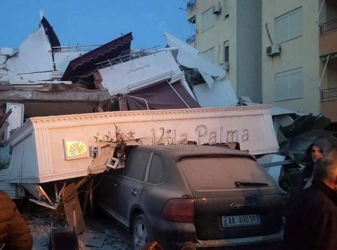 Forte terremoto in Albania  di magnitudo 6.5 Scossa avvertita  anche in Puglia e Basilicata