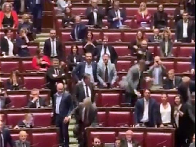 Montecitorio, rissa tra deputati sul fondo salva Stati Video