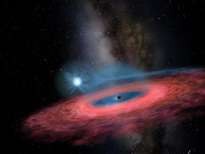 C'è un buco nero «impossibile» nella Via Lattea: troppo grande per esistere