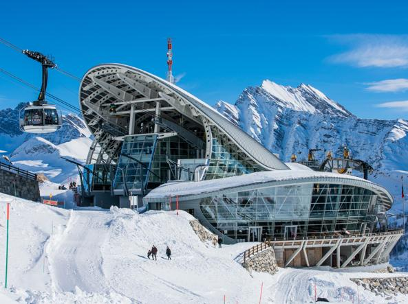 La stazione Pavillion The Mountain, a 2.173 metri