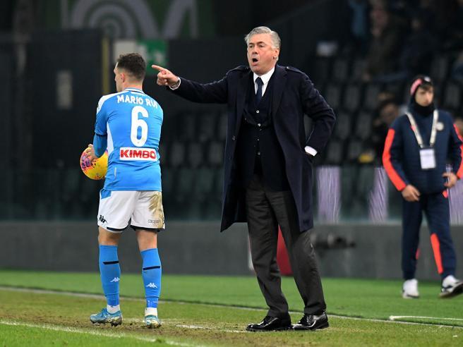 Udinese-Napoli 1-1, a Lasagna risponde Zielinski: gli azzurri non vincono più, Ancelotti rischia