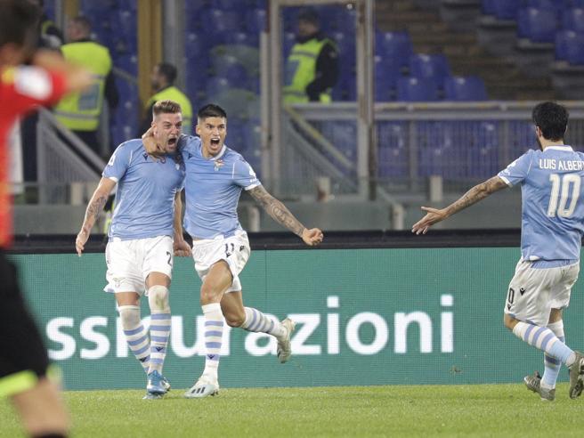 Lazio Juventus 3 1, Felipe, Milinkovic Savic e Caicedo ferma