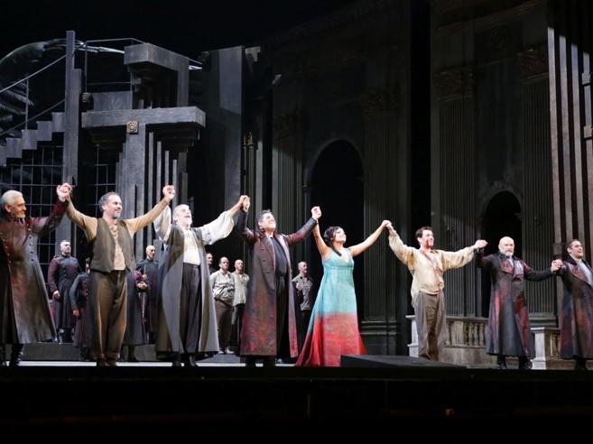 «Tosca», quasi tre milioni di ascolti. È la prima della Scala più vista in tv