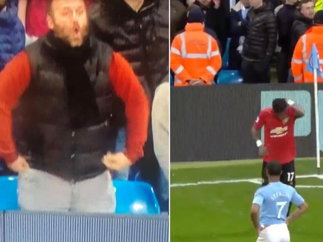 Manchester City vs United, tifoso arrestato  per razzismo: aveva fatto il gesto della scimmia. Ora rischia il posto