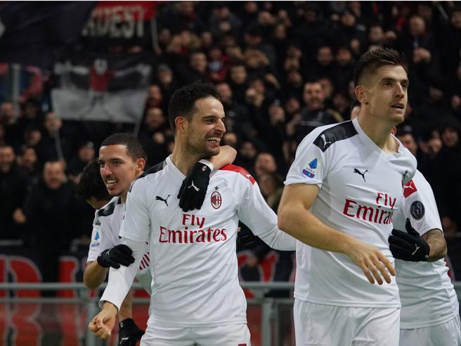 Bologna Milan 2 3: Pioli ingrana la seconda con Piatek, Hern