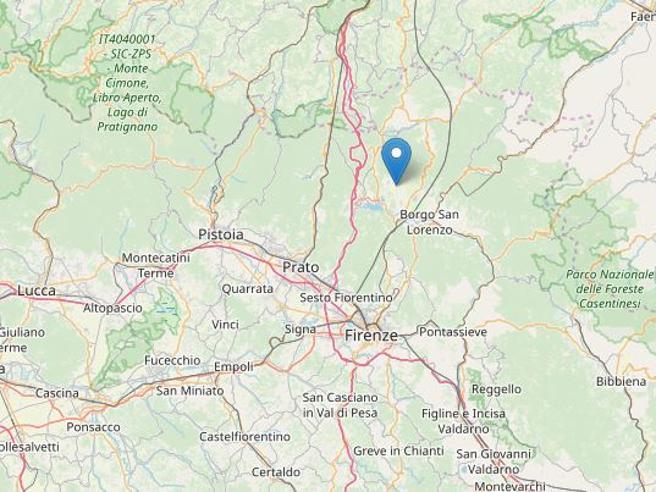 Terremoto al Mugello del 4,5, avvertito a Firenze e Bologna