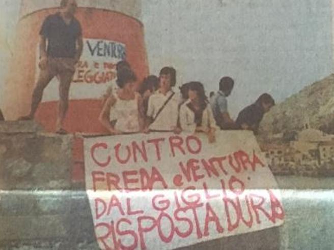 Piazza Fontana, quando l'Isola del Giglio si «ribellò» a Freda e Ventura