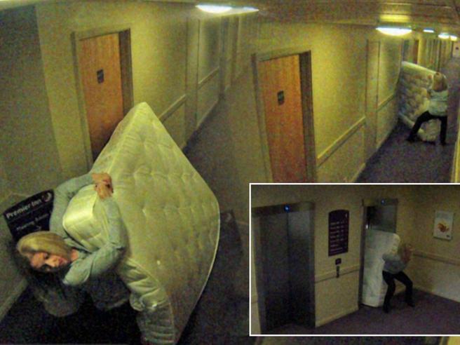 Tv, materassi e pure un pianoforte: ecco cosa si ruba negli hotel