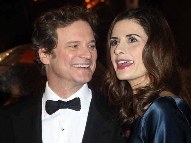 Colin Firth e  Livia Giuggioli si separano dopo il tradimento (con l'italiano Marco Brancaccia)