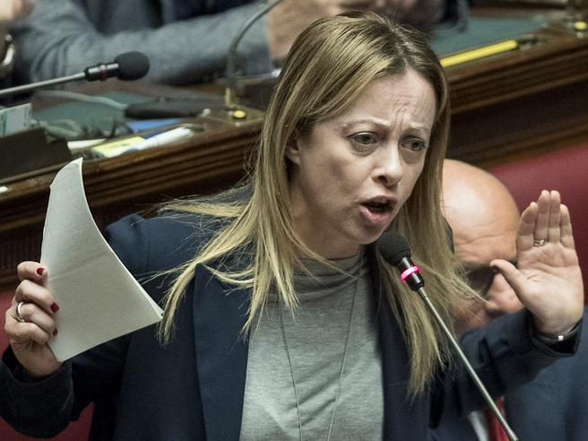 Meloni: «L'idea bipartisan di Salvini? Proposta incomprensib