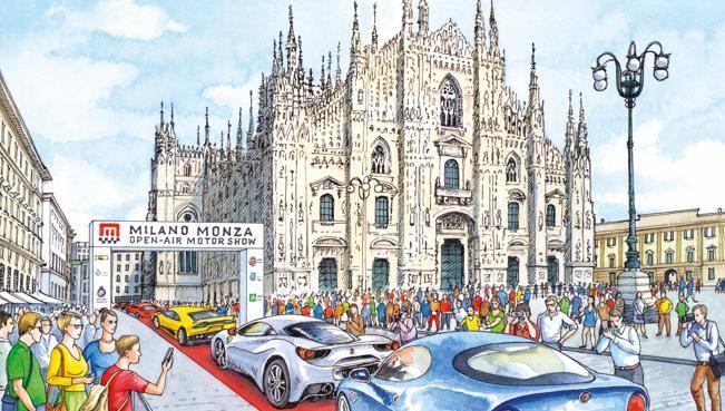 Milano Monza Motor Show , sale la febbre