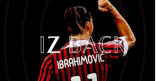 Ibrahimovic-Milan, è ufficiale: «Cambieremo il corso della stagione»
