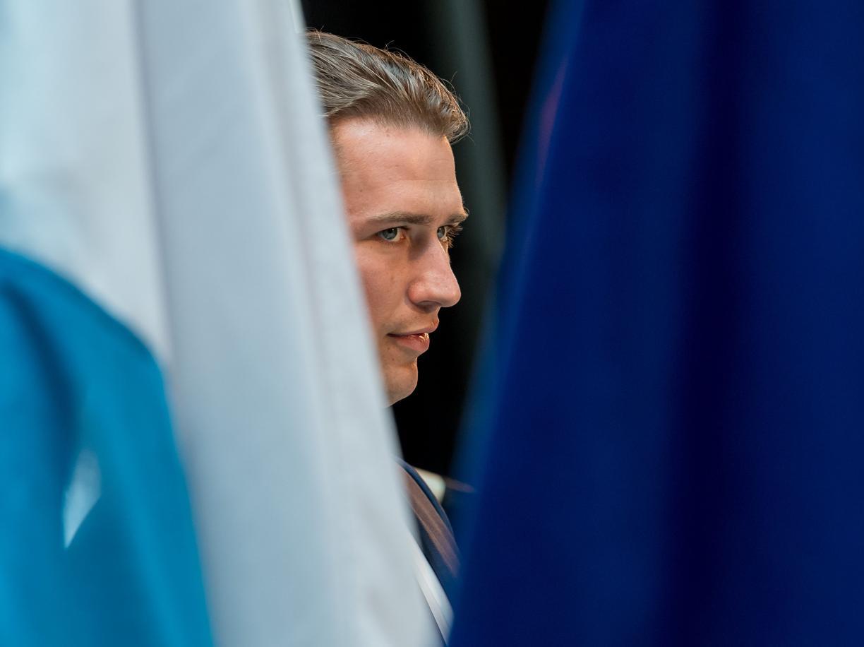 Il cancelliere designato Sebastian Kurz (Afp)