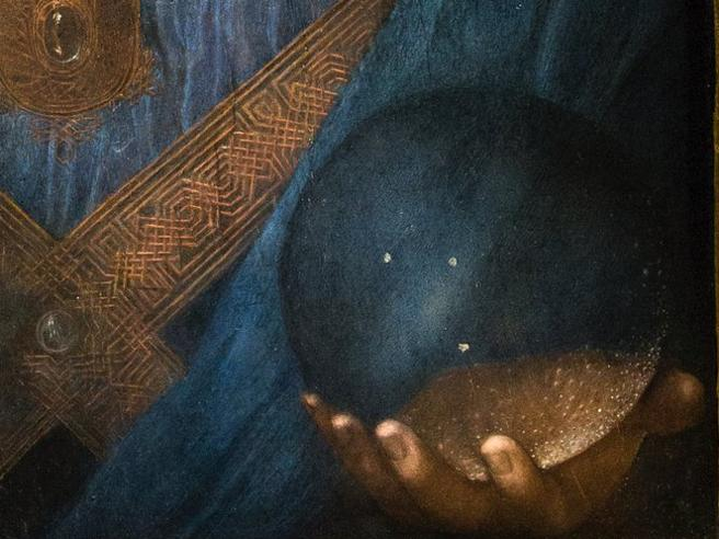 La sfera del «Salvator Mundi» è cava: il mistero svelato dal sistema «Maya»