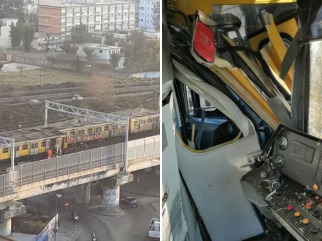 Napoli, incidente in metro: scontro tra treni della linea 1
