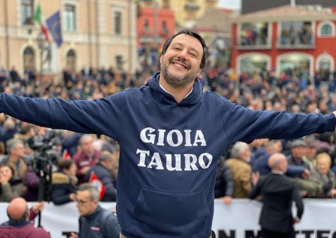 Salvini: «Io e  Casellati? È vero, ci siamo visti. Ma per parlare di altro»