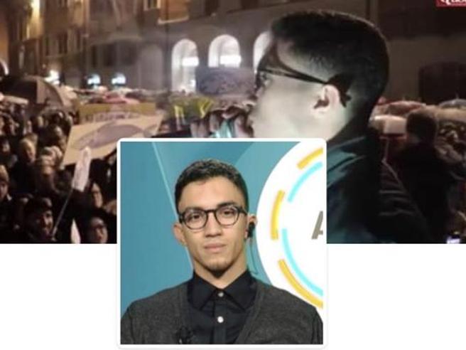 Bibbiano, l'attivista delle Sardine che ha battuto Salvini